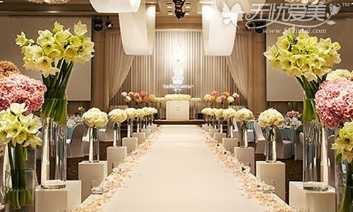 韩国ritzcarlton酒店结婚礼堂
