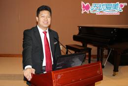 无忧爱美网CEO郑朝峰现场演讲获认可