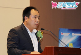 ()健康美容联盟主席在韩国国会致辞